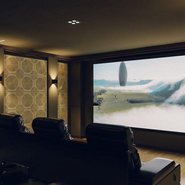 Circulo - akustický panel pre domáce kino