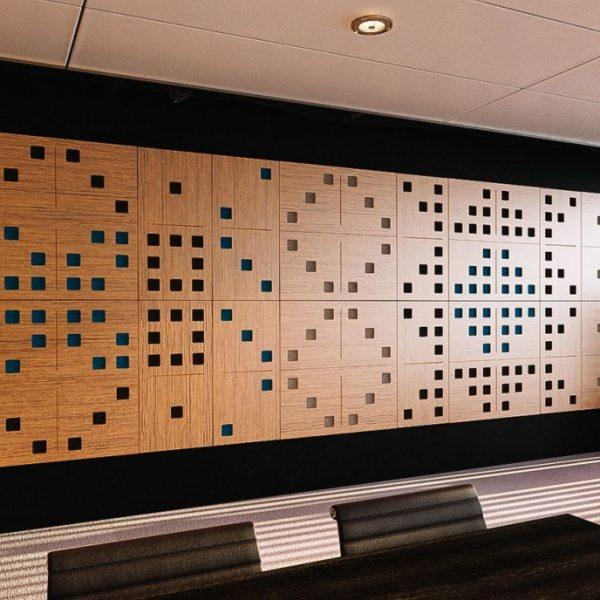 Domino akustický panel na stenu
