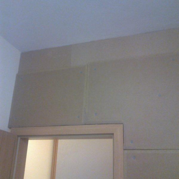 Zvukové odhlučnenie steny