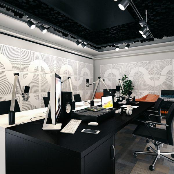 WavO aWavO akustický panel na stenukustický panel stena