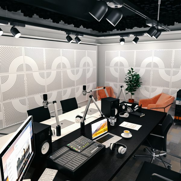 WavO akustický panel na stenu