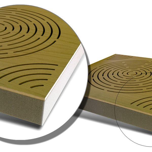 Circulo akustický panel
