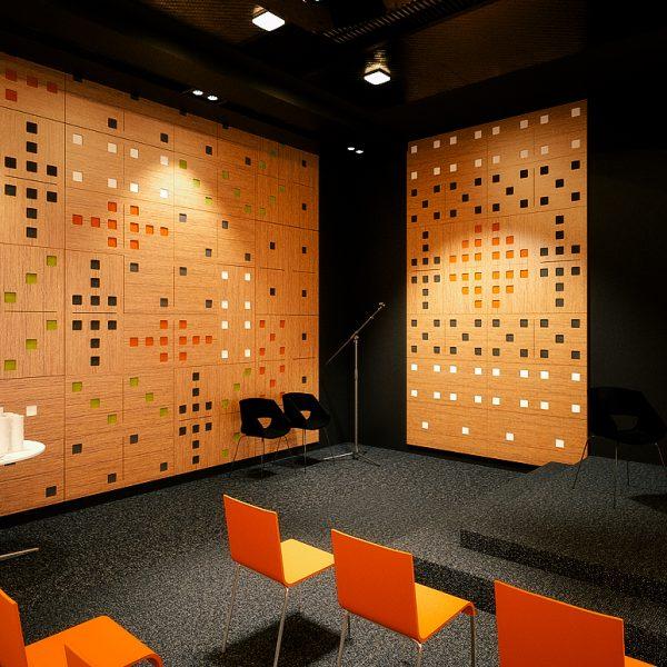 Akustický panel