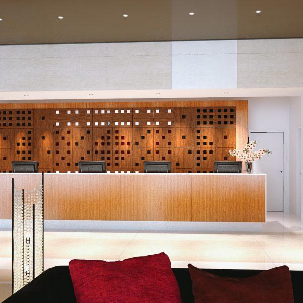 Akustický panel hotelová izba