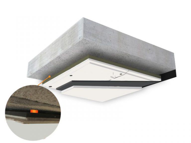 Zvuková izolácia stropu