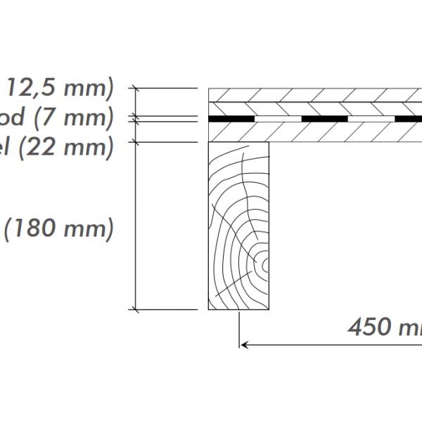Kročajová izolácia do ľahkej drevenej podlahy