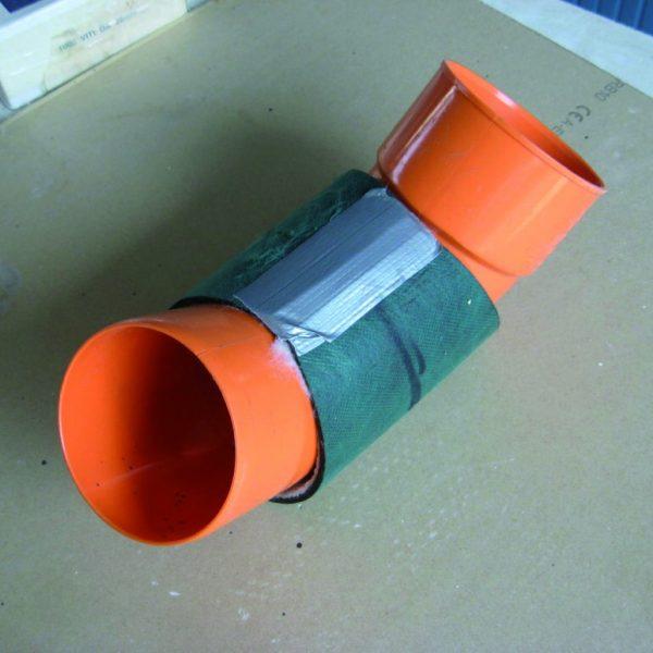 Zvuková izolácia rúr, stupačiek, potrubí.