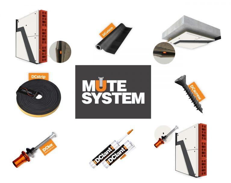 MUTE system - produkt a príslušenstvo
