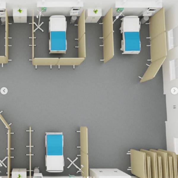 zvuková izolácia nemocnice