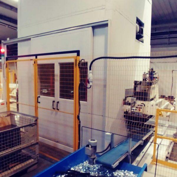 odhlučnenie priemyselného stroja