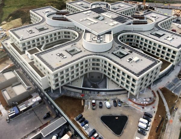 odhlučnenie nemocnice